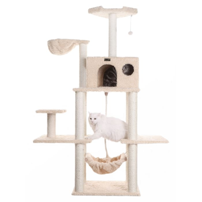 Multi-Level Cat Tree Hammock Bed, Climbing Center for Cats and Kittens