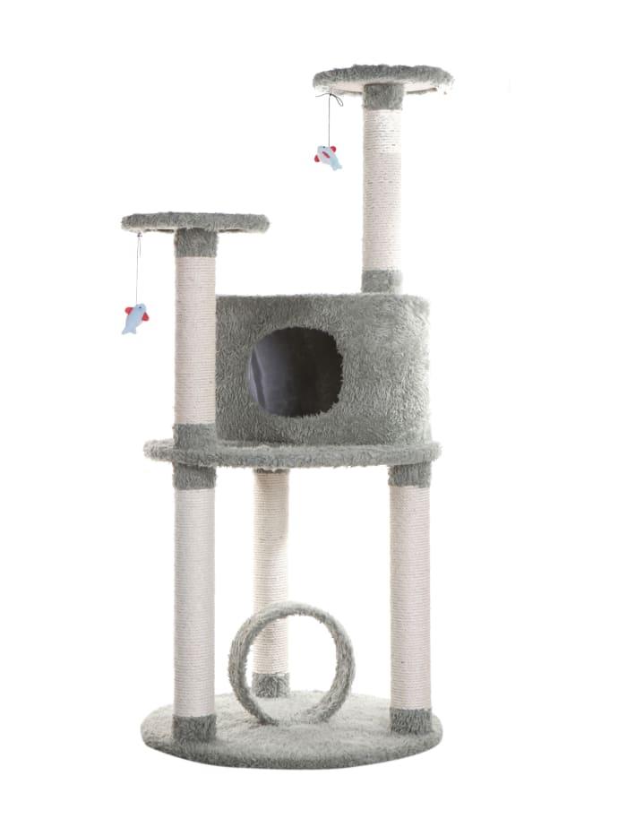Sisal Covered Scratcher Multi-Level Cat Condo Furniture