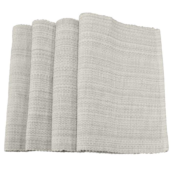 Classic Natural Cotton Set of 4 Placemats