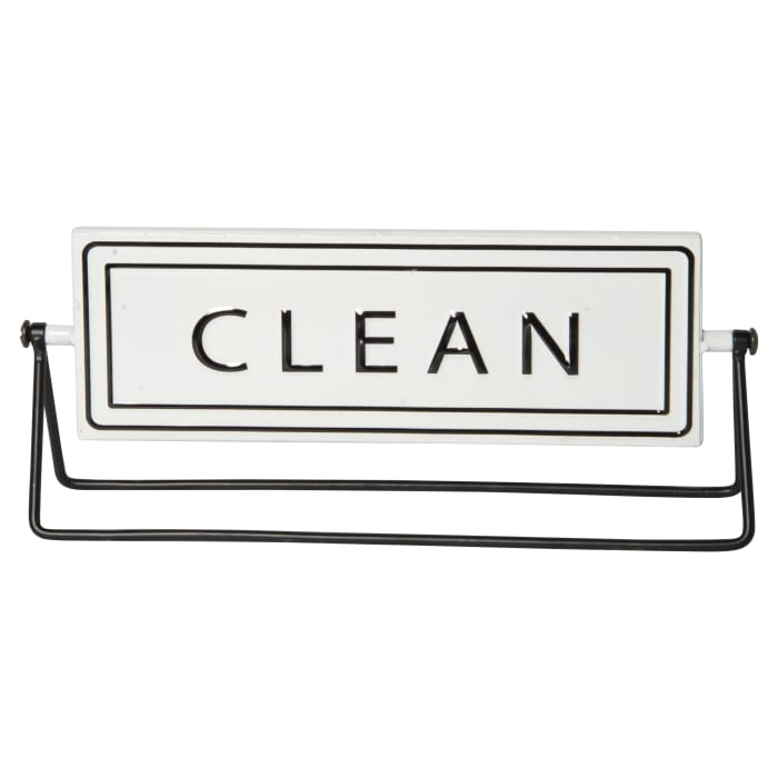 Gloss Finish double sided Metal Sign