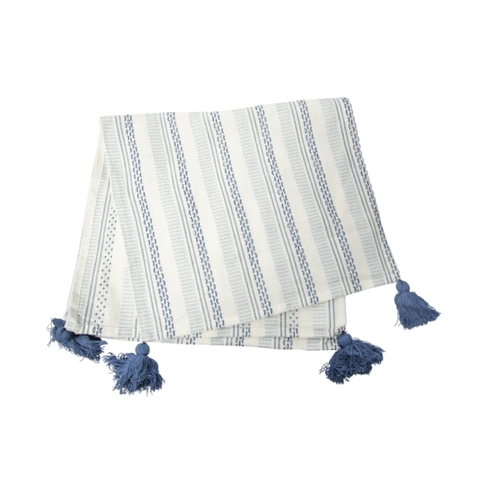 Woven Cotton Table Runner