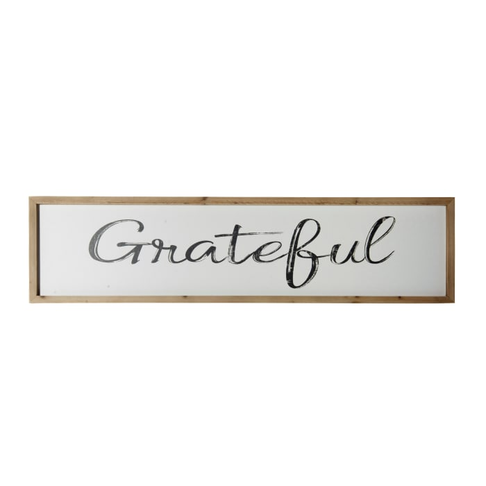 Grateful Wall Sign