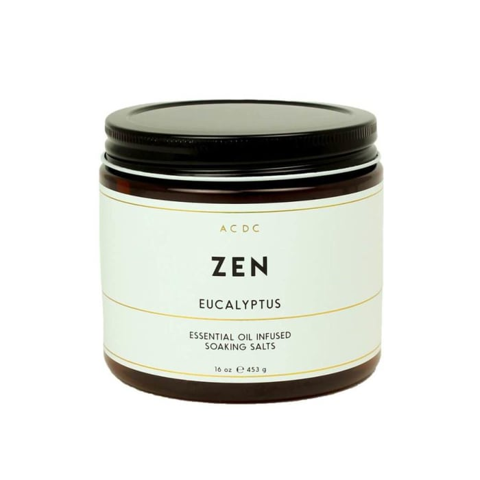 Zen Eucalyptus Essential Oil Bath Soaking Salts