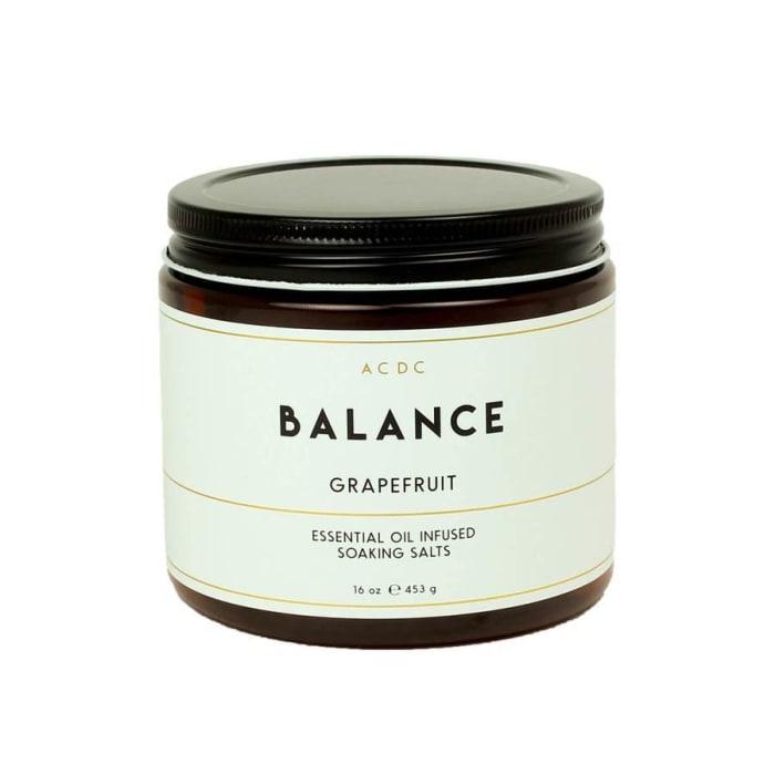 Balance Grapefruit Essential Oil Bath Soaking Salts