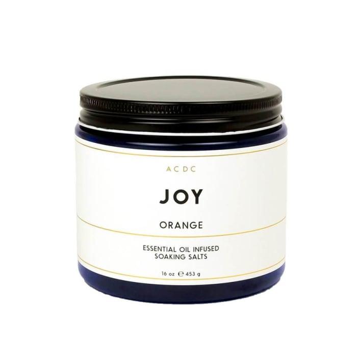 Joy Orange Essential Oil Bath Soaking Salts