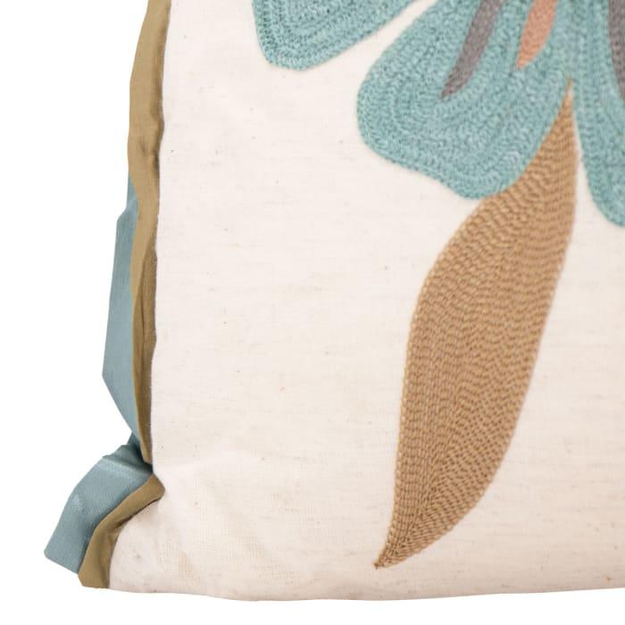 Pier 1 Soft Blue/Green PIllow