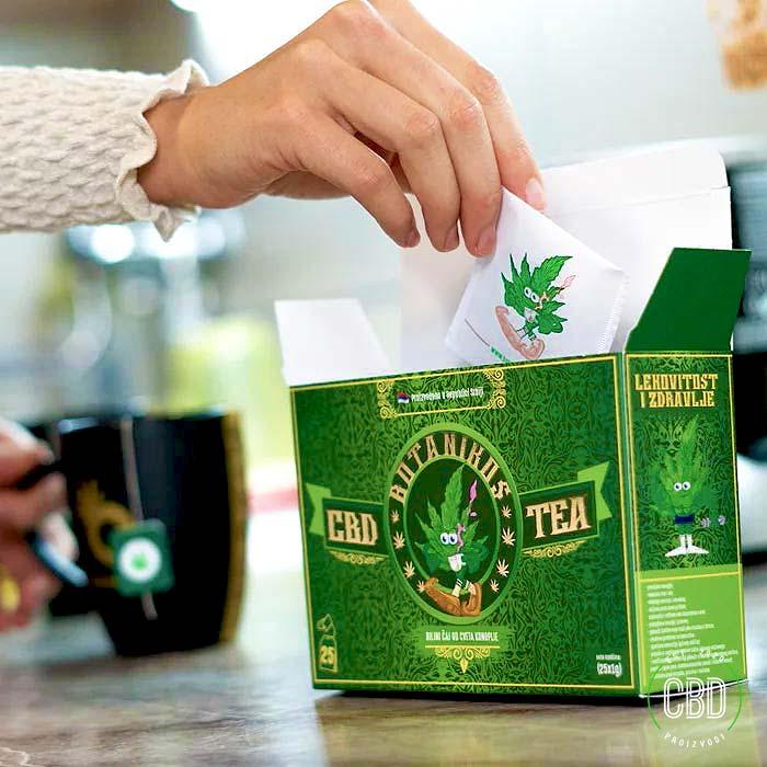 CBD Čaj Od Konoplje Kutija - Slika 1