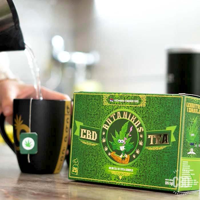 CBD Čaj Od Konoplje Kutija - Slika 3