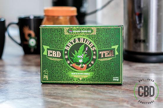 CBD Čaj Od Konoplje Kutija