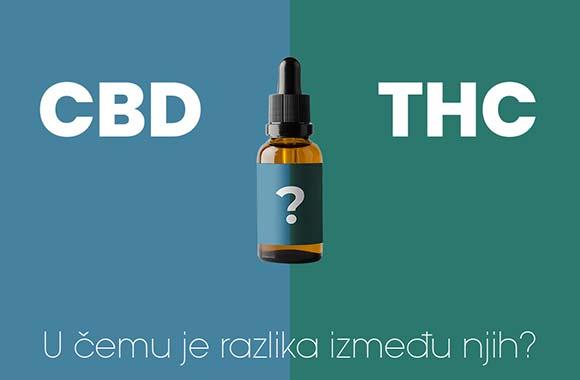 CBD vs THC: u čemu je razlika?