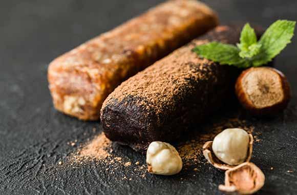 Proteinske čokoladice sa konopljom