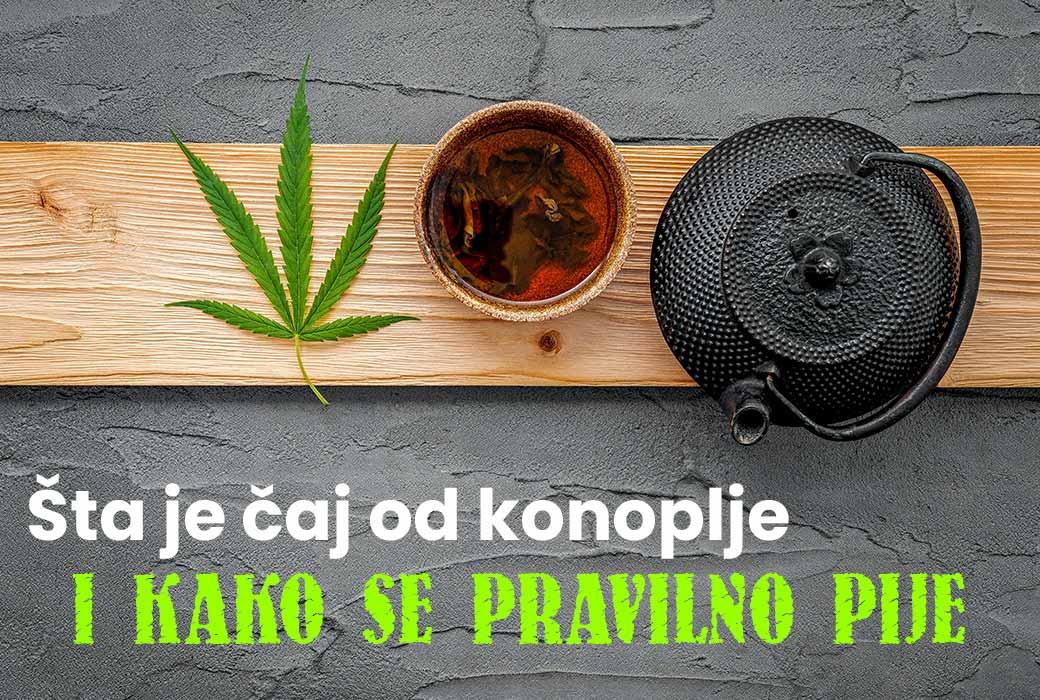 Čaj od konoplje priprema (2 načina)