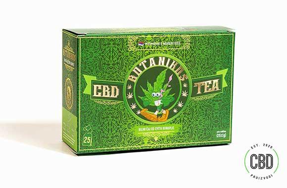 CBD čaj