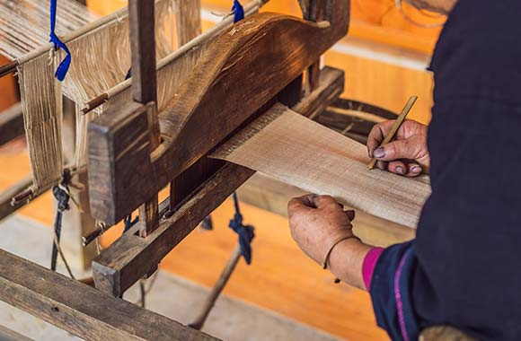 CBD proizvodi - predenje i tkanje konoplje