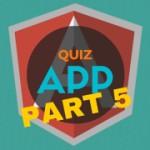 AngularJS Quiz App Tutorial Part 5 – Ng-model and Angular Filters