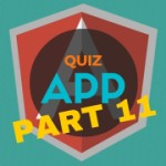 AngularJS Quiz App Tutorial Part 11 – More Bootstrap