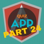 AngularJS Quiz App Tutorial Part 24 – The Finished App