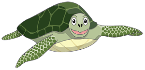 Hungry Turtle Code Logo