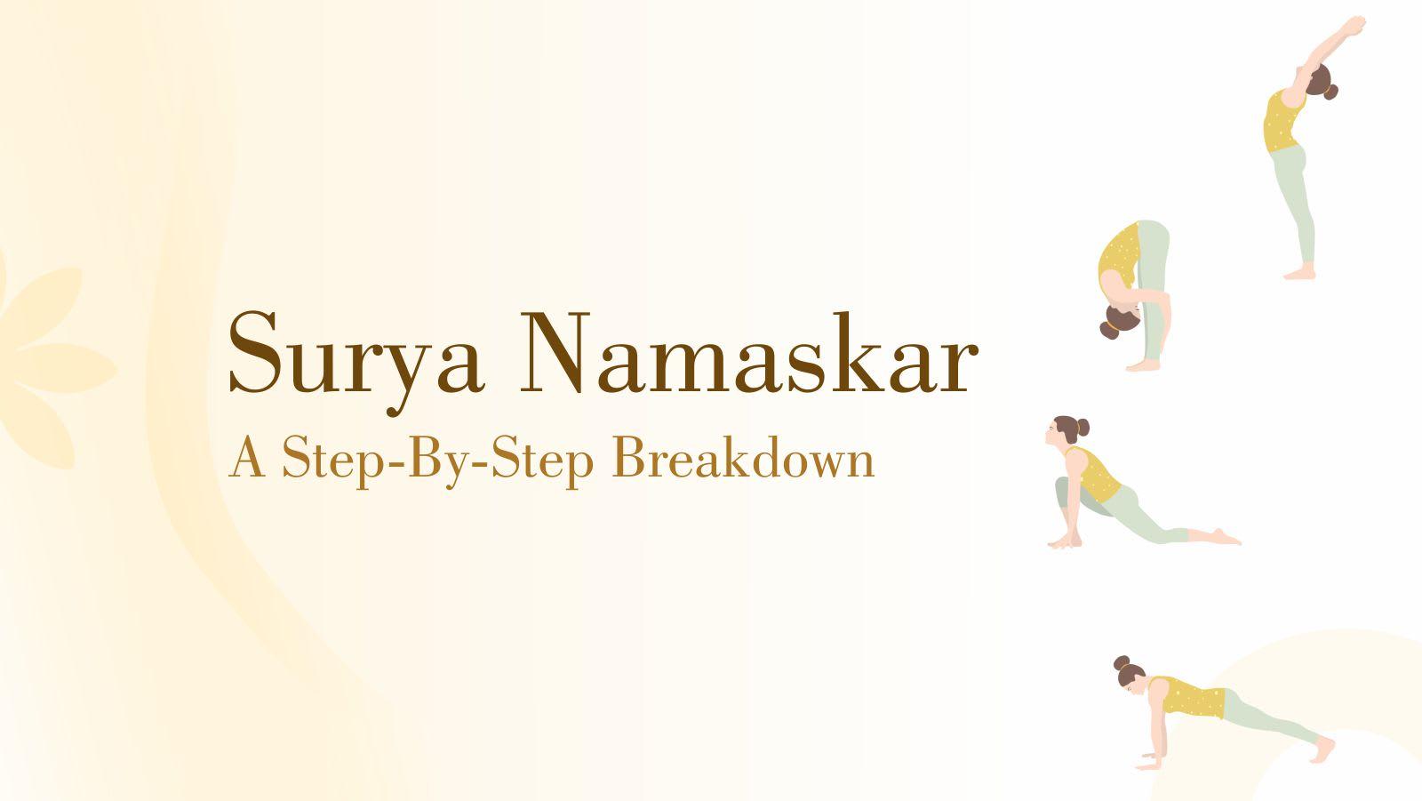surya namaskar step by step breakdown, yoga, yoga poses, yoga pose, surya namaskar, morning meditation, surya namaskar, choreo n concept, fitness, workout, health, balanced life