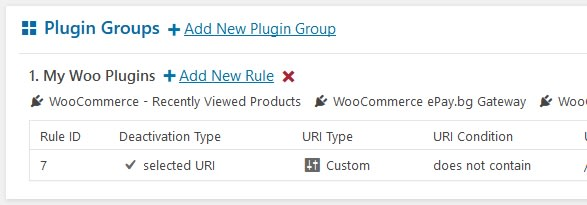 plugin groups