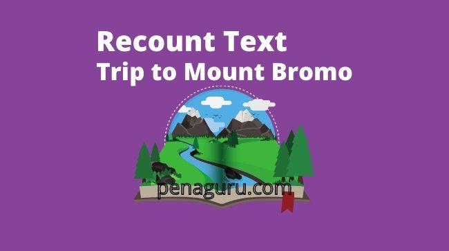 contoh soal recount text tentang liburan