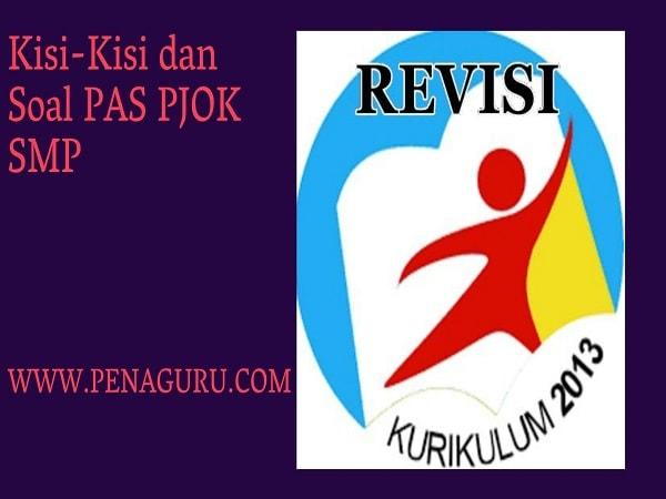 Kisi-Kisi dan Soal PAS PJOK SMP Semester 1