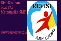 Soal PAS Matematika SMP