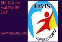 Kisi-Kisi dan Soal PAS IPS SMP Semester 1