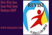 Kisi-Kisi dan Soal PAS Seni Budaya SMP Semester 1
