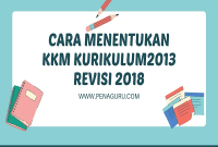 Cara Menentukan KKM Kurikulum 2013 Revisi 2018