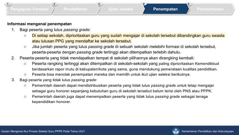 begini rencana alur proses seleksi guru pppk 2021 dan tanya jawab seputar p3k