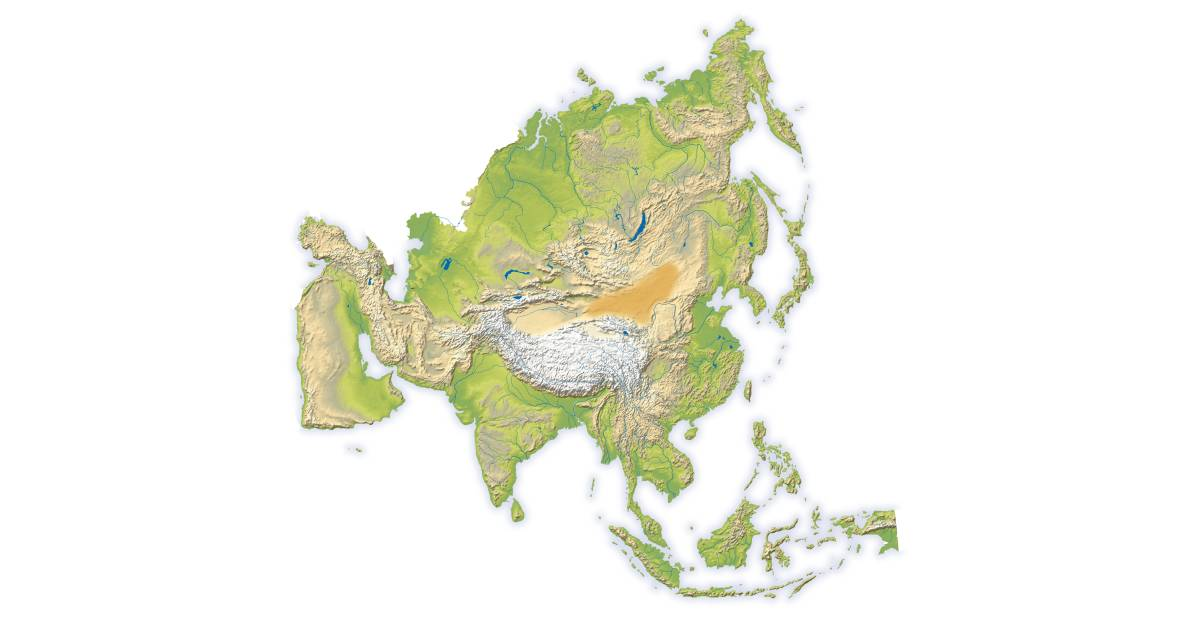The Continent Of Asia Map.Asia Continent Facts About Asia For Kids Dk Find Out
