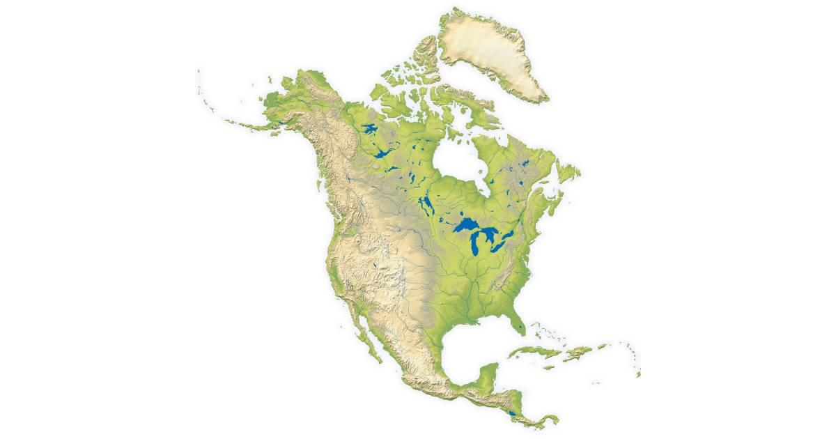 North america continent facts for kids dk find out for Interesting facts north america