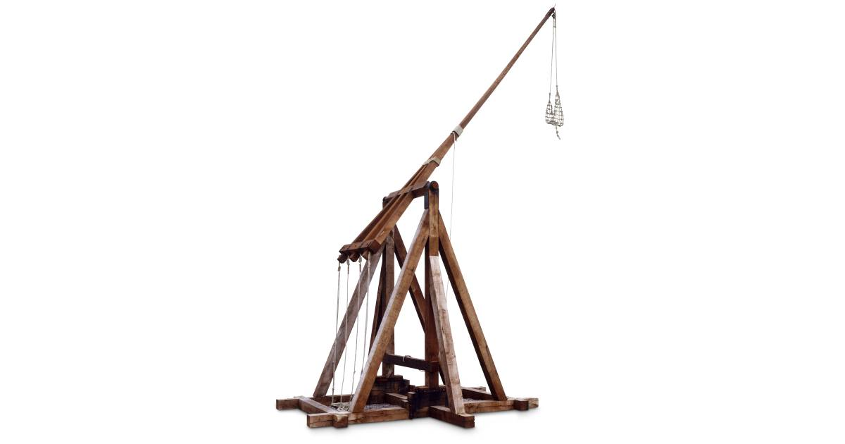 what is a trebuchet used for