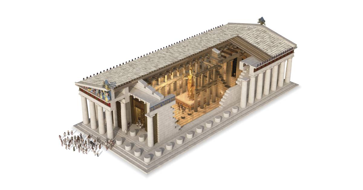 humanism and parthenon As a post and lintel temple, the parthenon presents no engineering breakthrough  in building construction however its stylistic conventions have become the.