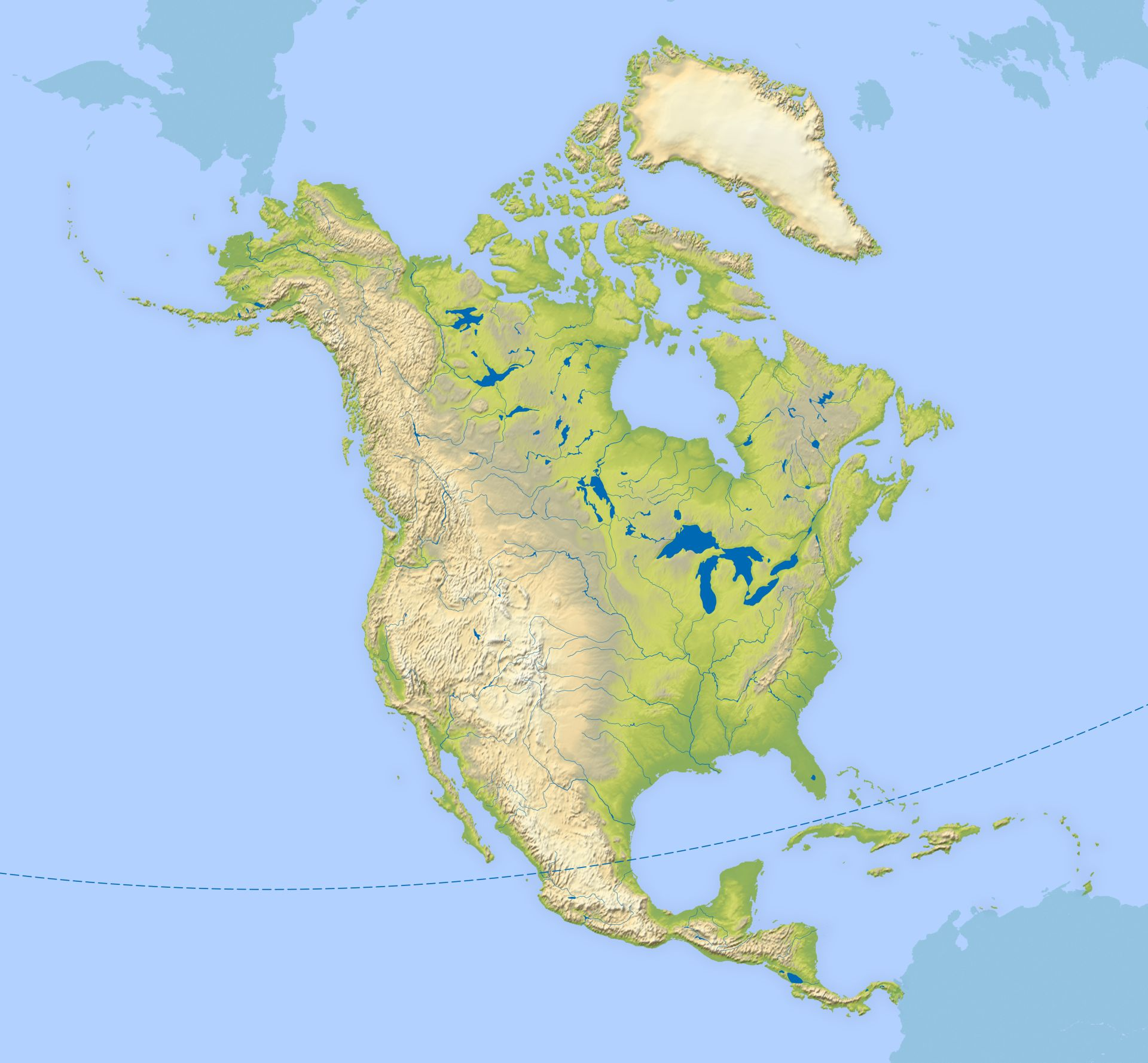 North America Continent Facts For Kids DK Find Out