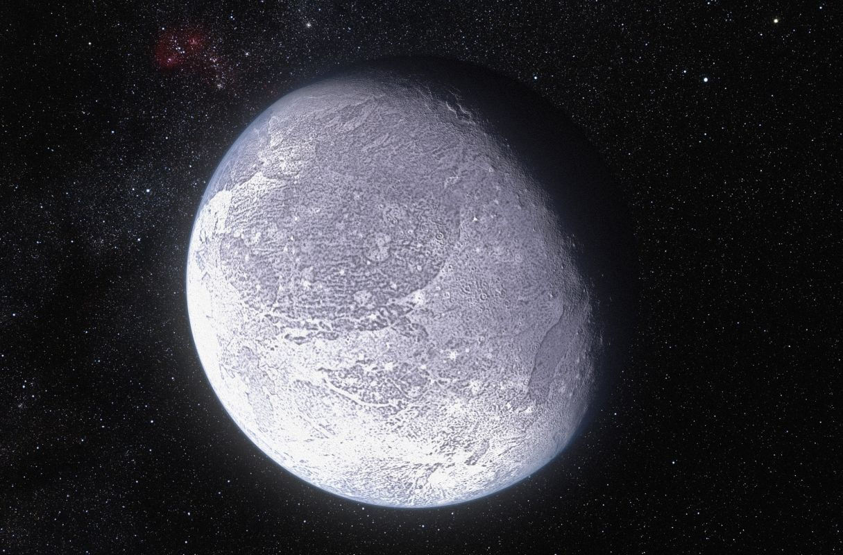 haumea with other planets - photo #19
