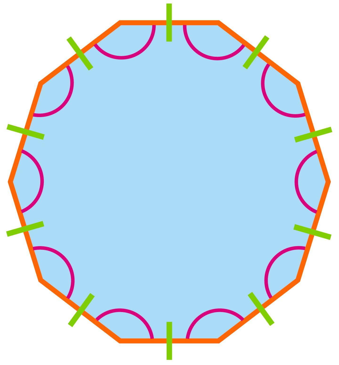 Decagon Interior Angles