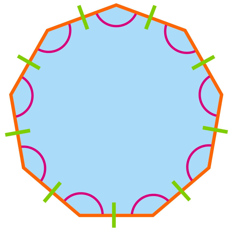What Is A Nonagon | Nonagon Shape | DK Find Out