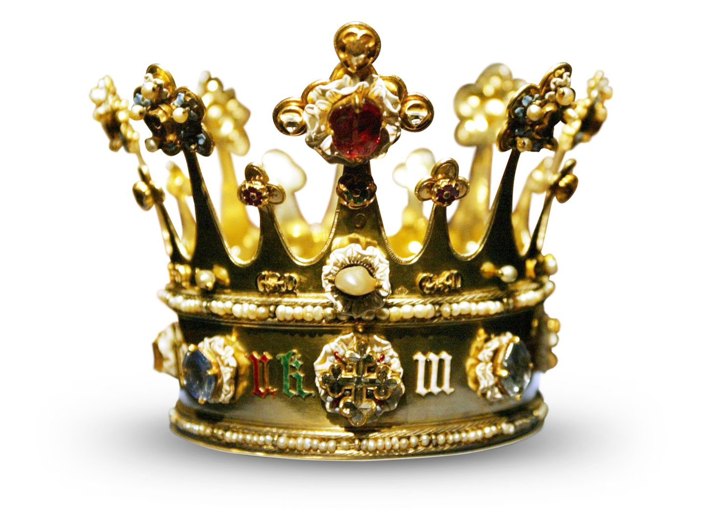 Crown of Margaret of York, made in London before 1461