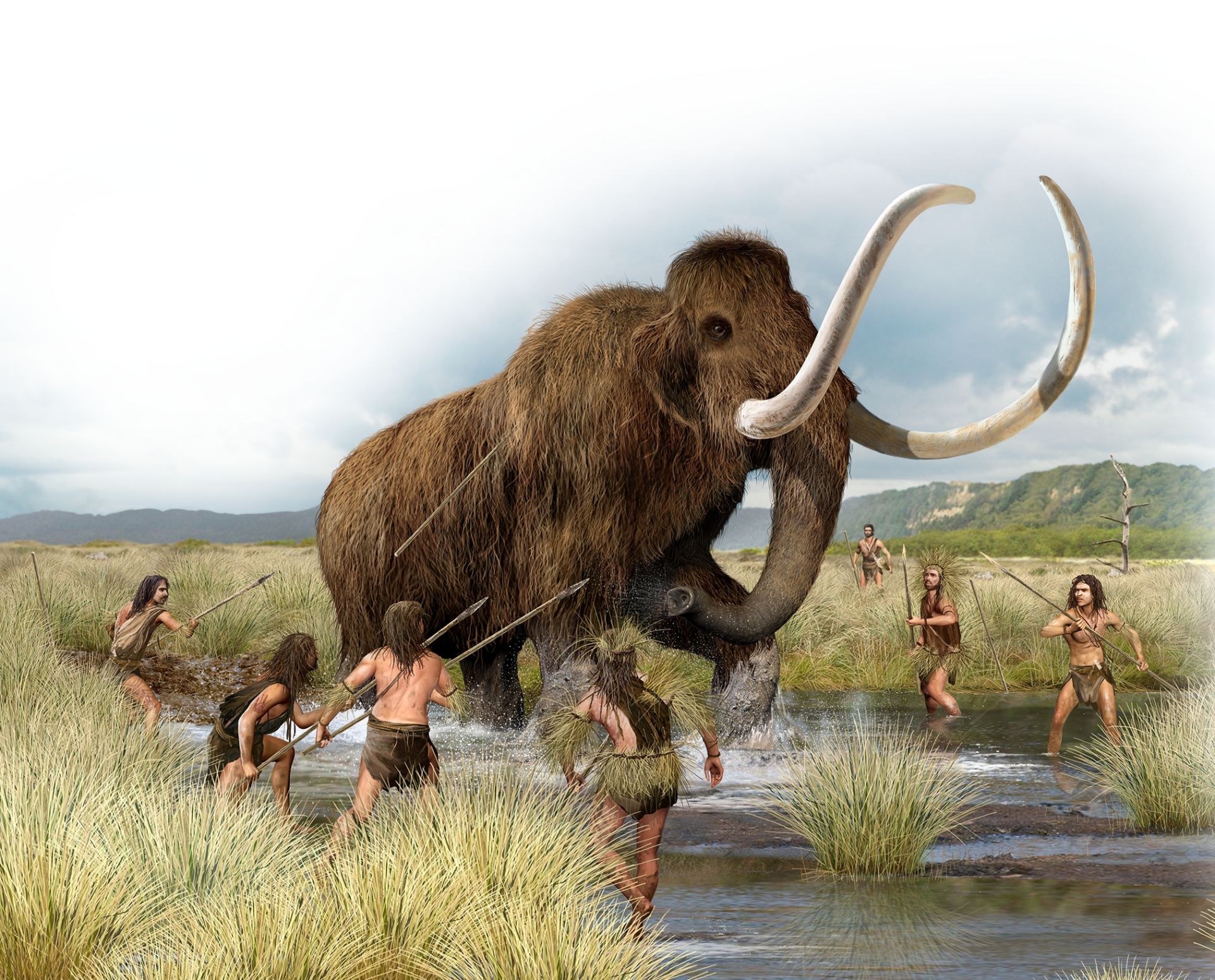 Early Human Hunting | Humans Hunting Mammoths | DK Find Out