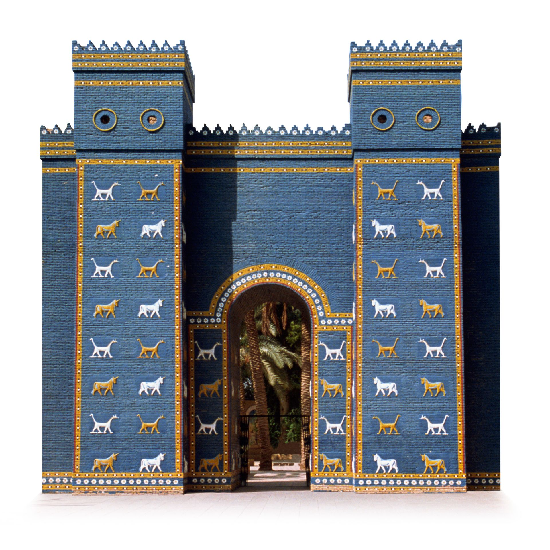 babylonian monuments facts ishtar gate dk find out
