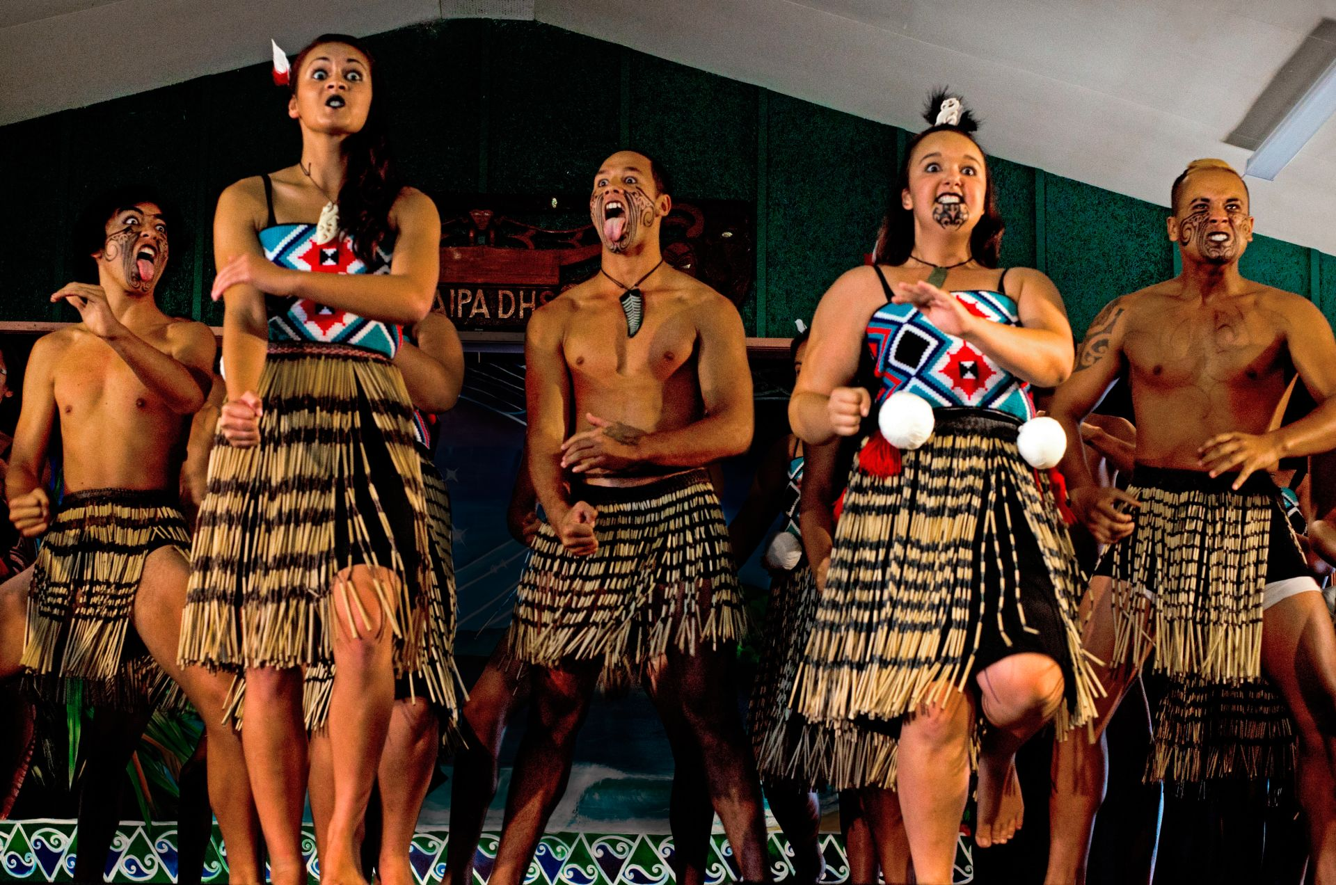 Maori Haka: Maori Song And Dance