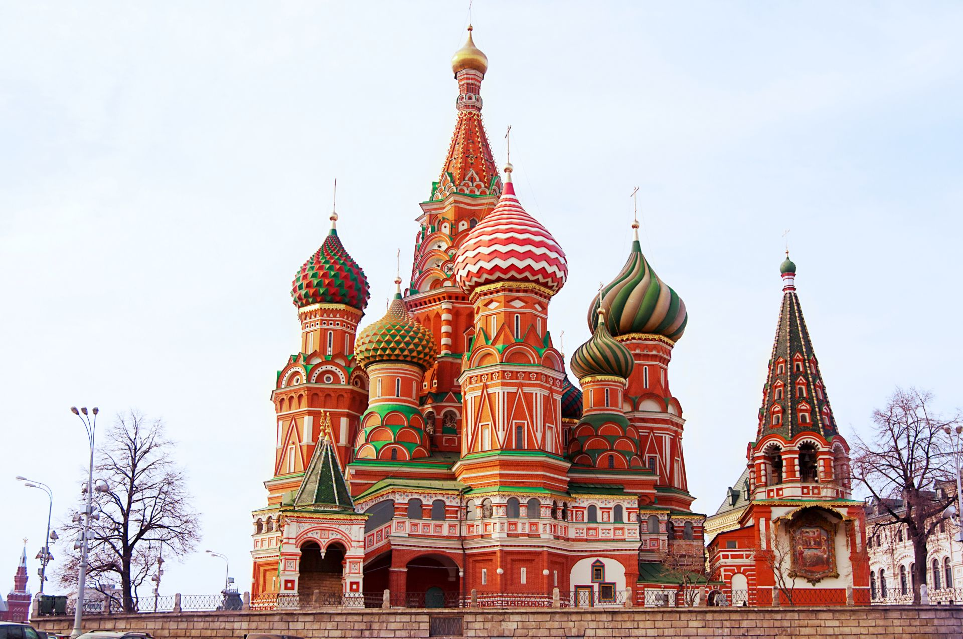 Facts about st basil cathedral dk find out for Famous landmarks in russia