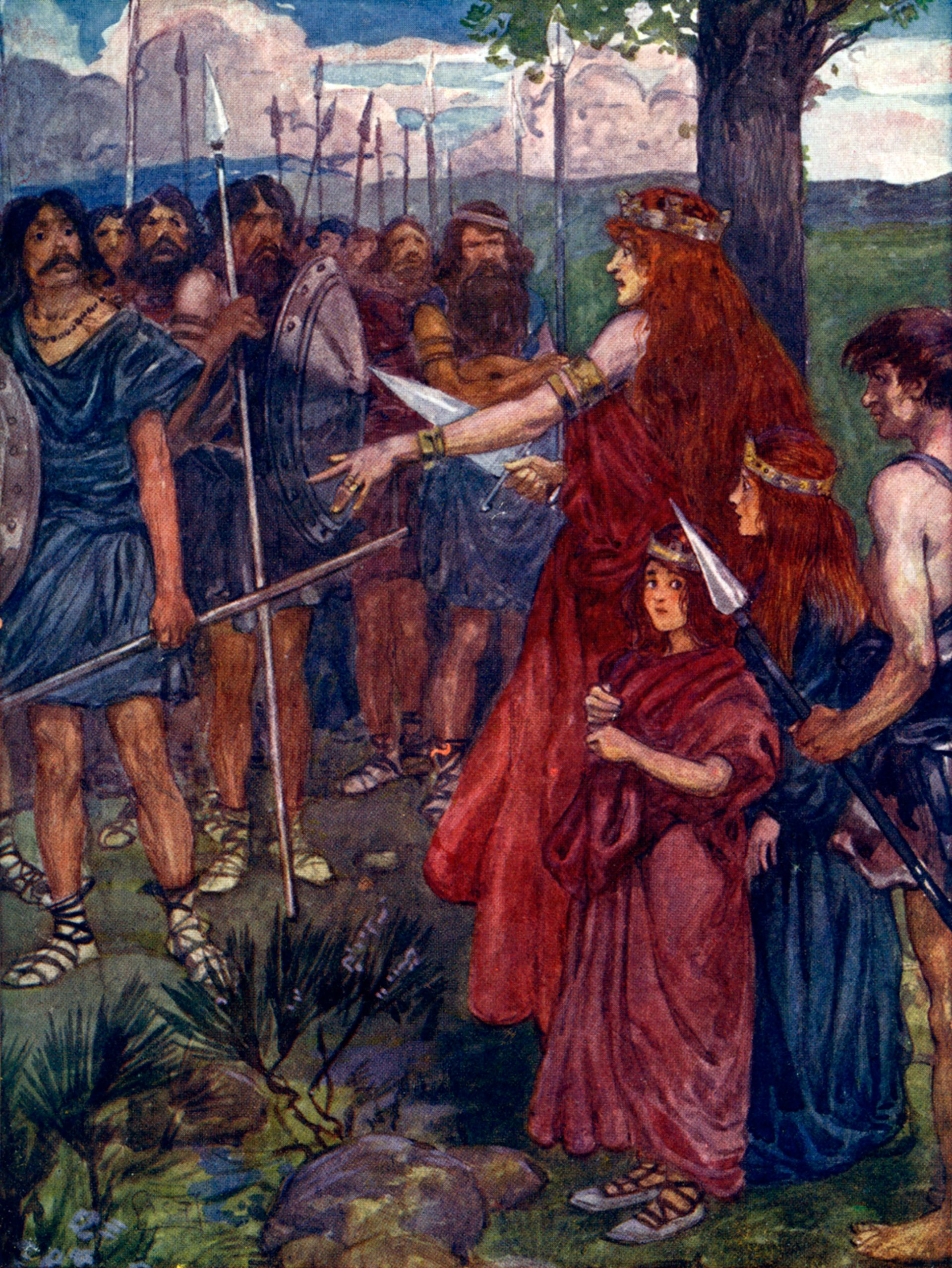 Queen Boudicca Boudicca Facts Dk Find Out