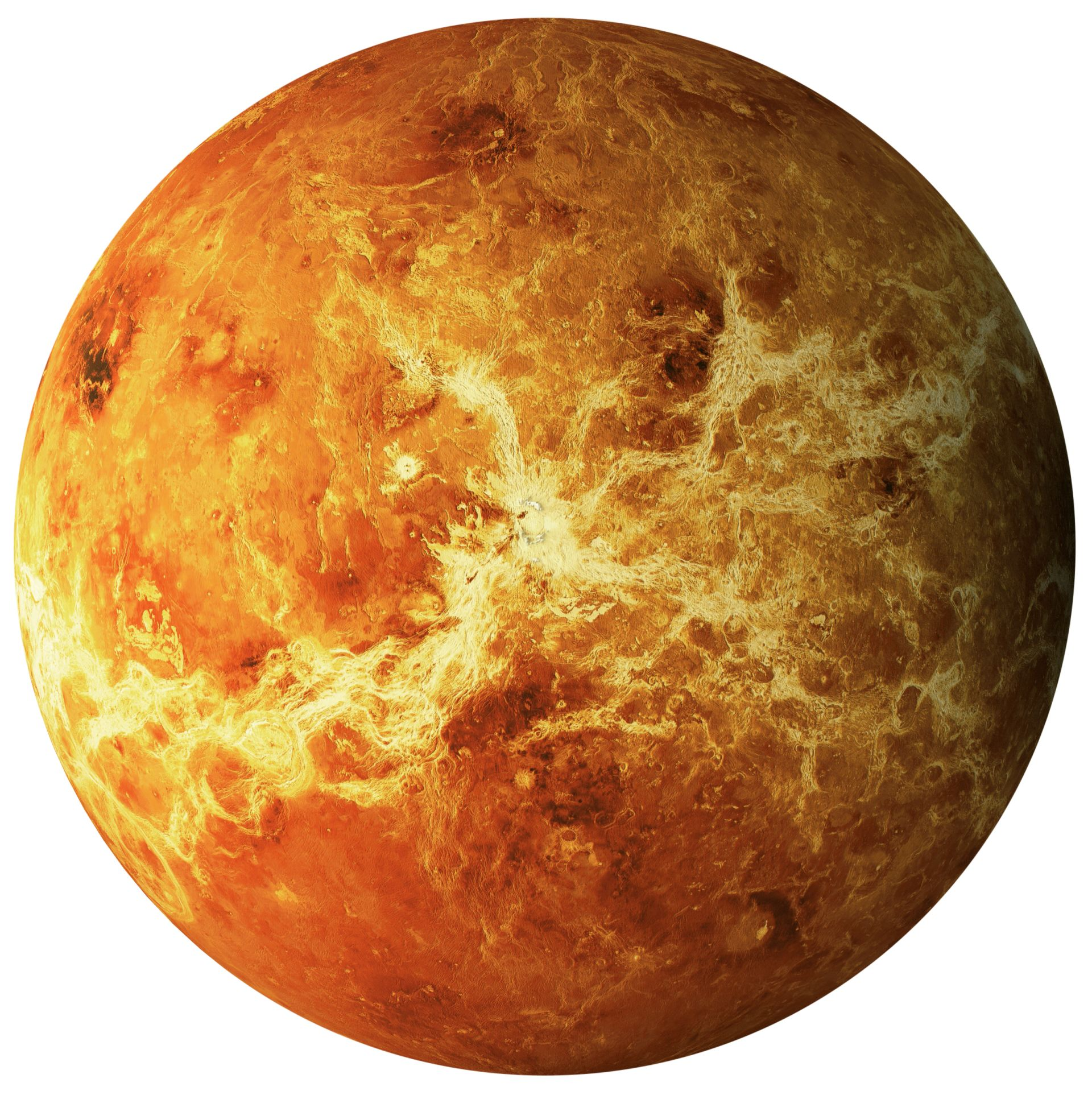 venus temperature