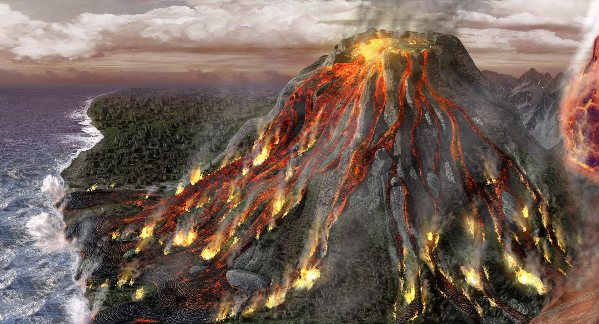 volcano facts You can do many things to protect yourself and your family from the dangers a  volcanic eruption can cause the best way to protect yourself.