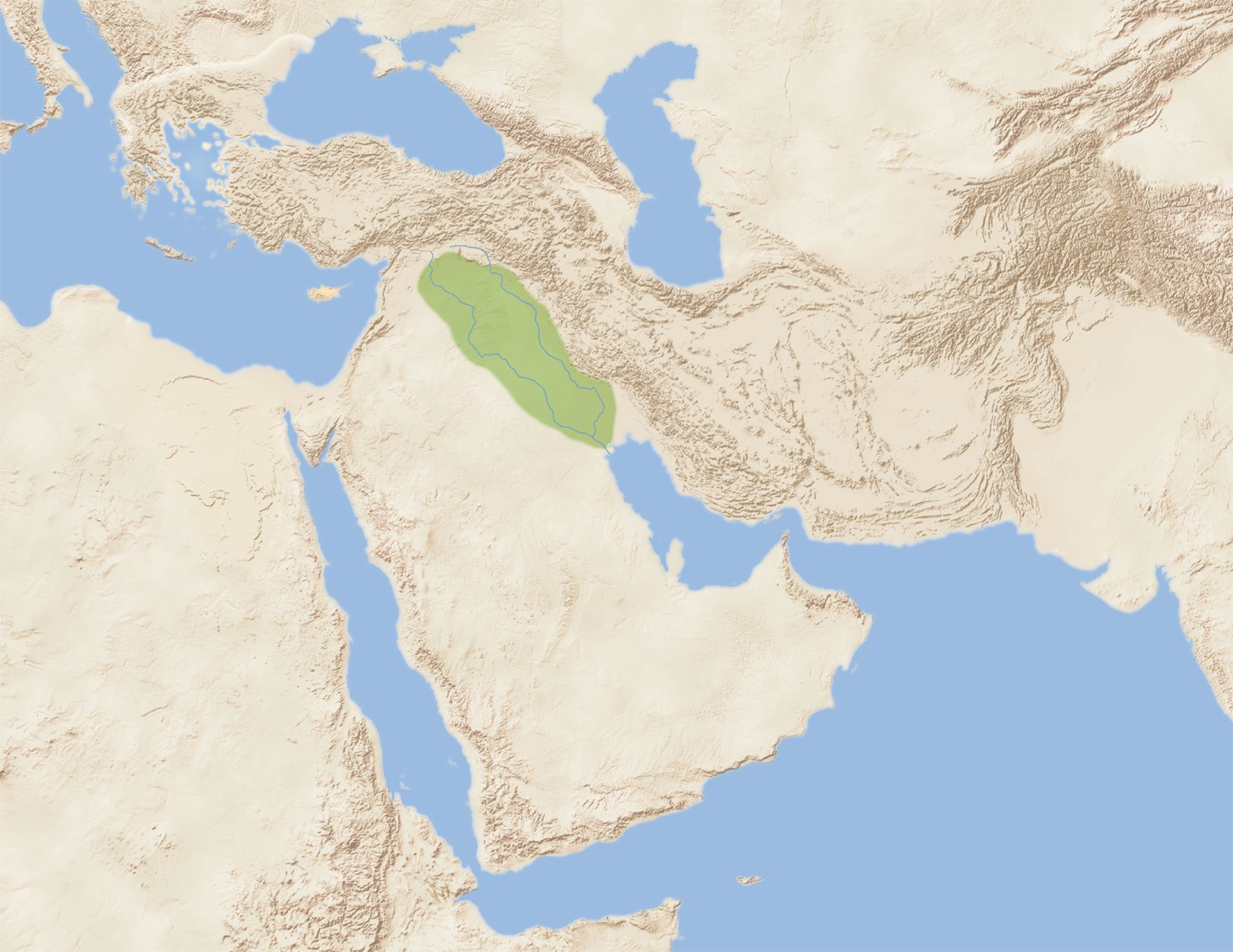 Where Is Mesopotamia On A World Map.Where Was Mesopotamia Located Dk Find Out