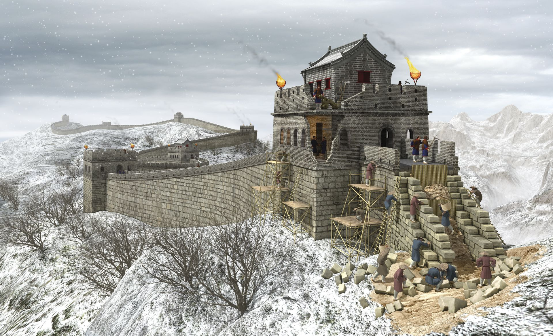 Great Wall China Facts For Kids