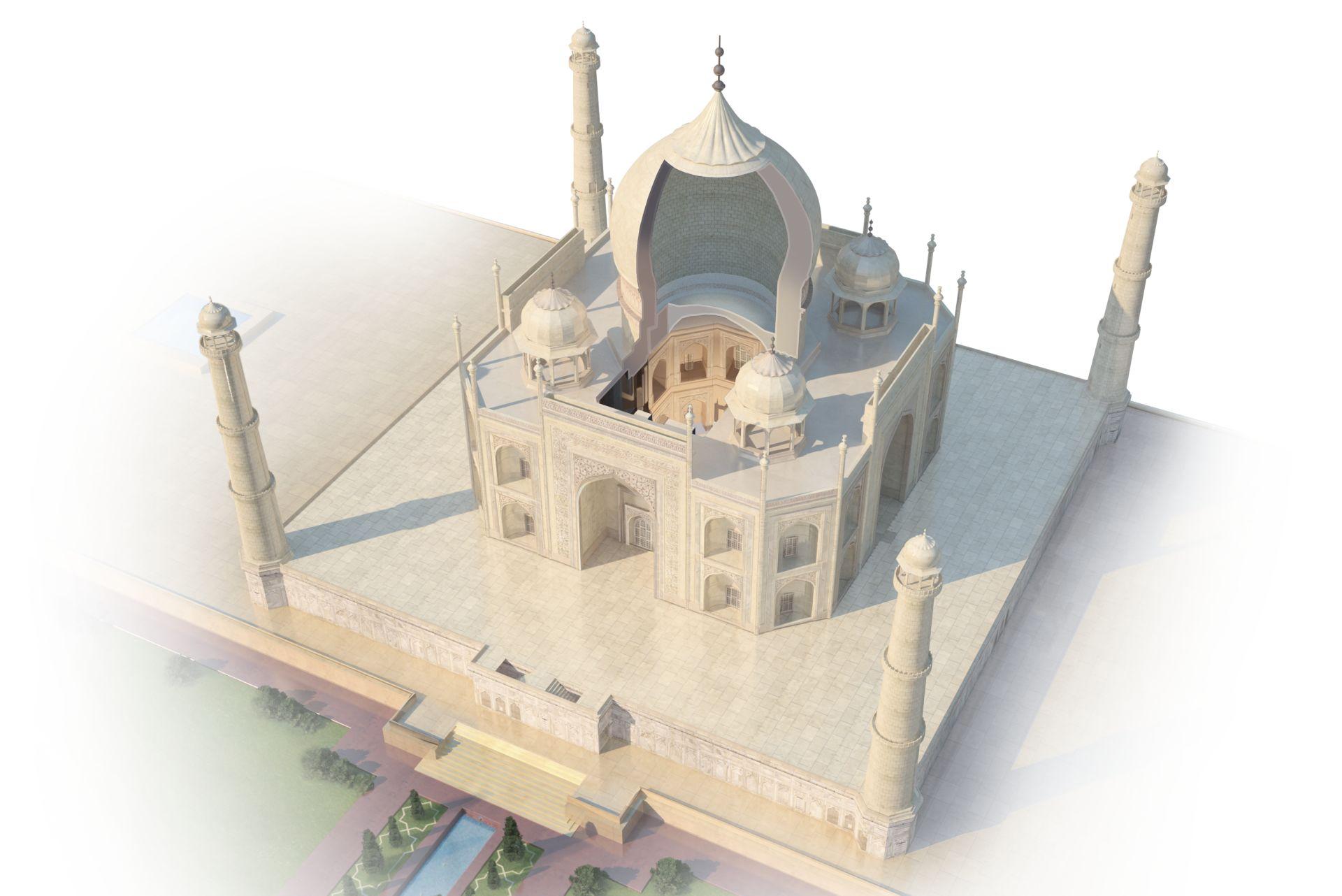 Room With Black Walls Inside The Taj Mahal Taj Mahal Tomb Dk Find Out